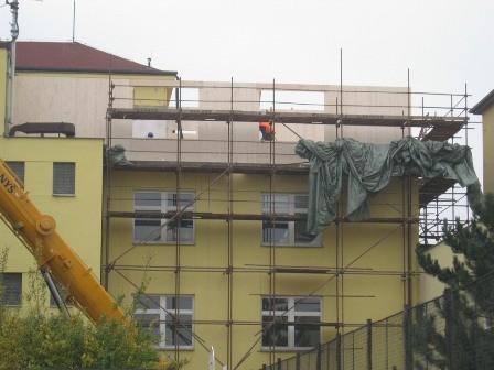 Dřevěná nástavba 2011